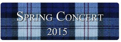Spring concert 2015 - the secret agent concert