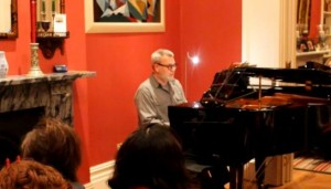 Stephen Performing at London Piano Institute's Autumn Concert 2013