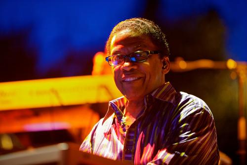 Jazz Pianist Herbie Hancock