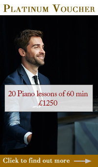 Platinum Piano Gift Vouchers