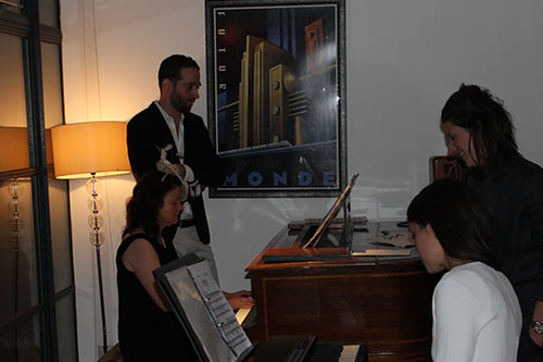 Piano duet performance at the London Piano Institute 2015