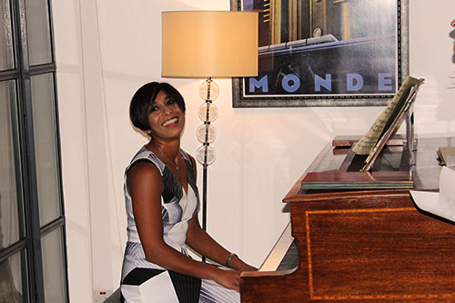 Dianes beautiful piano performance
