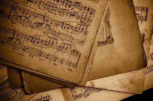 A Musical score