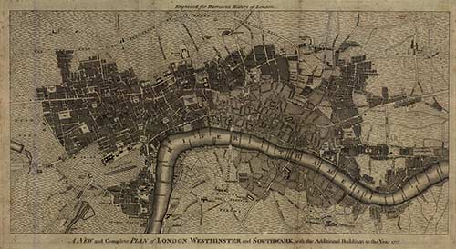 Old London Map