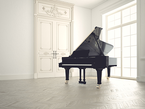 Practise-the-piano-in-a-clutter-free-environment