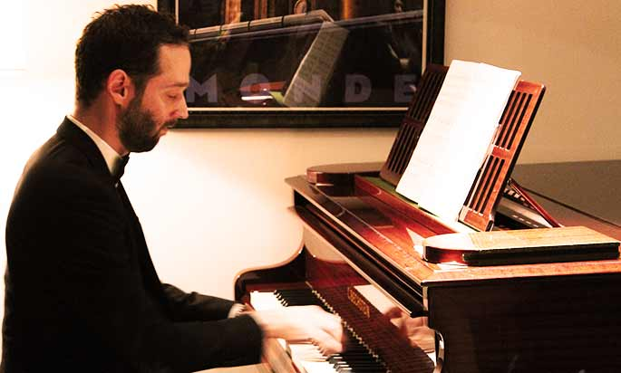 Daan - Celine's piano student at the London Piano Institute