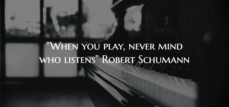 Schumann Quote