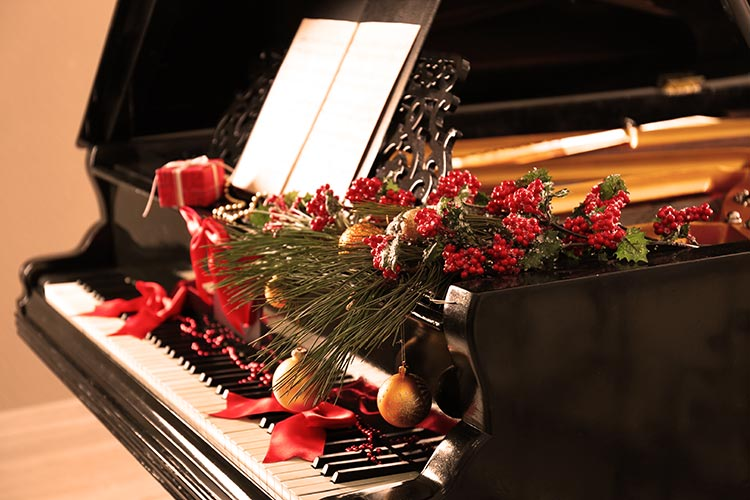 Christmas Piano.Christmas Piano Lesson Gift Vouchers The London Piano