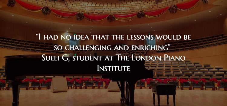 The London Piano Institute Testimonial