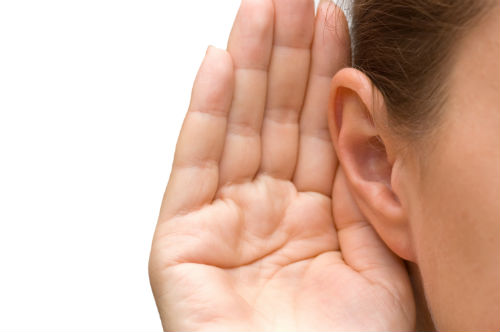 Listening with an ear