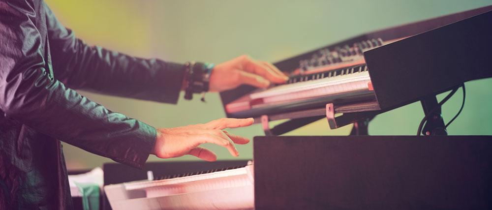 Rock pianist
